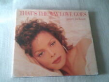 JANET JACKSON - THAT'S THE WAY LOVE GOES - DIGIPAK CD SINGLE