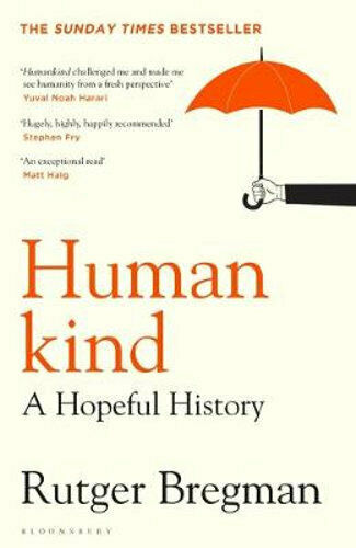 NEW Humankind By Rutger Bregman Paperback Free Shipping