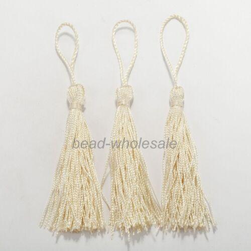 "Trimmings Tassels 5/"" Tassel Fringe Drapery Decoration Garment Chainette 20PCS"