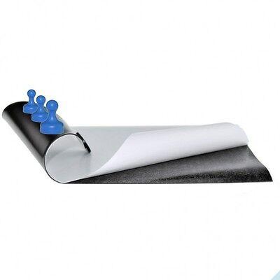 roh selbstklebend Eisenfolie 500mm x 500mm x 0,6mm Magnetfolie Braun