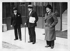 CONSEIL DES MINISTRES 1935 , PIERRE LAVAL , LOUIS ROLLIN ET Mr KATHALA