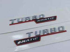 Mercedes Benz CLA45 CHROME TRUNK LOGO LETTERS BADGE EMBLEM FREE SHIPPING