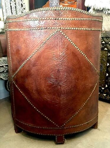 Moroccan Leather Chair