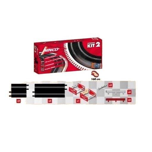 Ninco 10502 Extension Kit 1 NEU in OVP 160 cm Erweiterungssatz  | In hohem Grade geschätzt und weit vertrautes herein und heraus