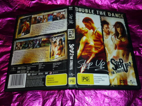 1 of 1 - STEP UP + STEP UP 2 THE STREETS : (2 DISC) (DVD, PG)