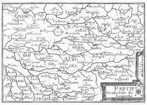 Antique-map-Partie-occidentale-du-Languedoc