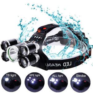 2018-80000LM-5-CREE-XM-L-T6-LED-18650-Headlamp-Headlight-Flashlight-Head-Torch