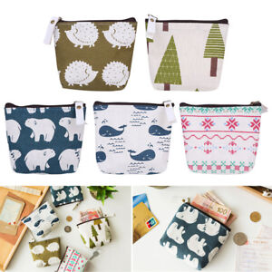 Cute-Girl-Canvas-Change-Wallet-Coin-Purse-Pocket-Small-Credit-Card-Holder-Pocket
