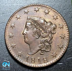 1818-Coronet-Head-Large-Cent-MAKE-US-AN-OFFER-B3648