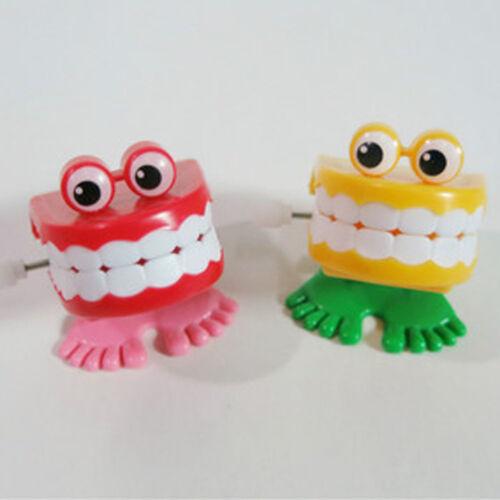 Chaud 1 X Drôle Sautant Dents Claquement Sourire Dents Petit Partiel Pieds Jouet
