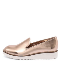 New-I-Love-Billy-Onset-Rose-Gold-Womens-Shoes-Casual-Shoes-Flat