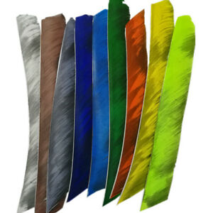 12pcs Trueflight flu Right Wing Full-Length Archery Feather