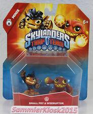 Small Fry & Weeruptor Skylanders Trap Team Mini Duo Pack Figuren Neu OVP RAR USA