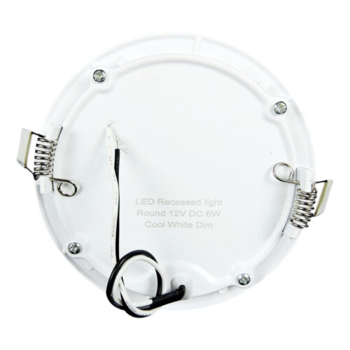 """5 PacK 12V 480 LUMEN 4.75/"""" Recessed LED RVs Boats Trailers Interior Ceiling  NW"""