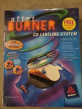 New Listingnew Avery After Burner Cd Labeling System Complete Kit Factory Sealed Pc Or Mac