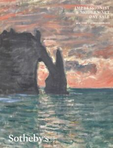Sotheby-039-s-New-York-Catalogue-Impressionist-amp-Modern-Art-Day-Sale-2019-HB