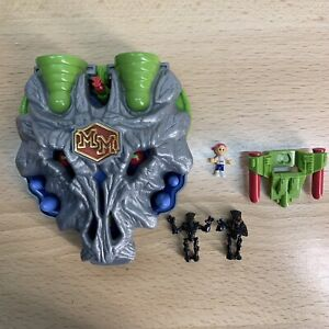 Mighty Max Doom Zones Special Variant Wolfship 7 100% Complete Set Playset Rare