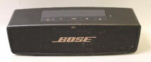 BOSE SOUNDLINK MINI II BLUETOOTH PORTABLE SPEAKER - BLACK/GOLD - READ