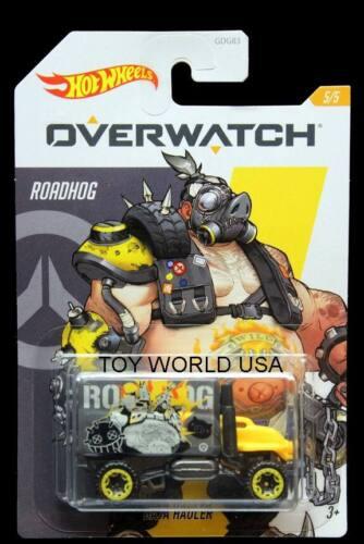 2020 Hot Wheels Overwatch #5 Baja Hauler Roadhog