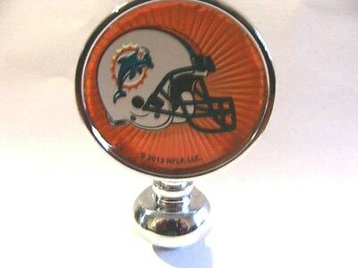 Never Used MIAMI DOLPHINS Football beer tap handle topper/finial