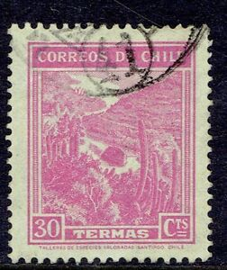 Image Is Loading CHILE STAMP RPO RAILWAY CANCELLATION AMBULANCIA 41