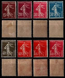 SEMEUSES-CAMEES-de-1924-Neufs-Cote-46-Lot-Timbres-France-189-a-196