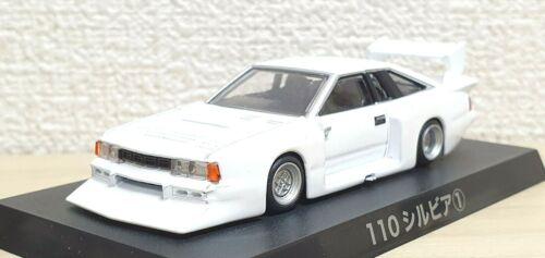 1//64 Aoshima Grachan NISSAN S110 SILVIA WHITE bosozoku diecast car model