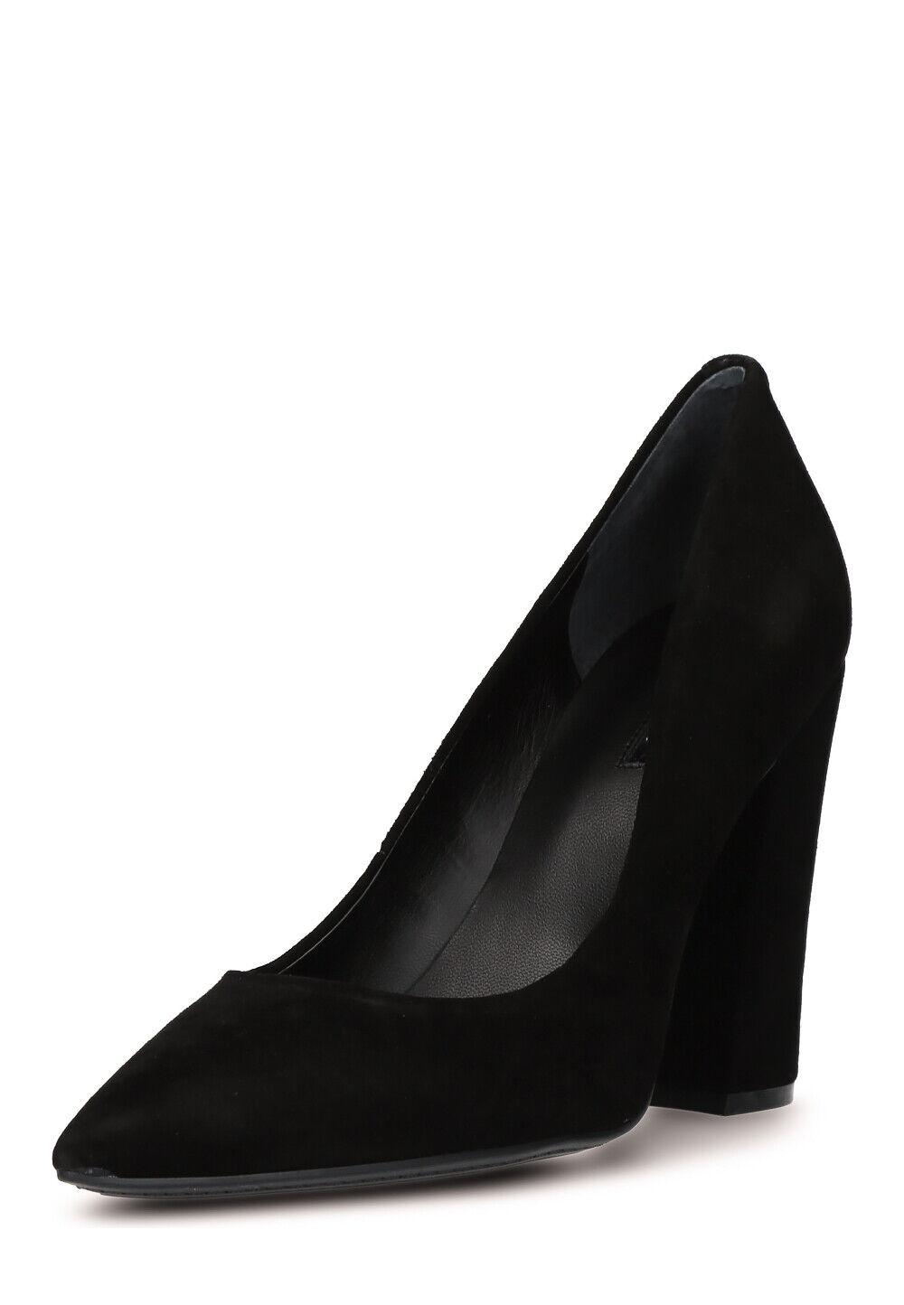 GUESS Damen Pumps Ridley Leder Absatz 10 cm schwarz Größe 36