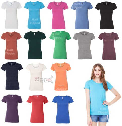 Bella Ladies Triblend Short Sleeve T-Shirt 8413 S-2XL Polyester//Cotton//Rayon