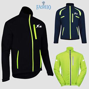 Men-039-s-Cycling-Warm-Jackets-High-Visibility-Rain-Water-Resistant-Windbreaker-Coat