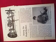m12y ephemera 1950/s picture peter jones eccleshall staffs meccano crane