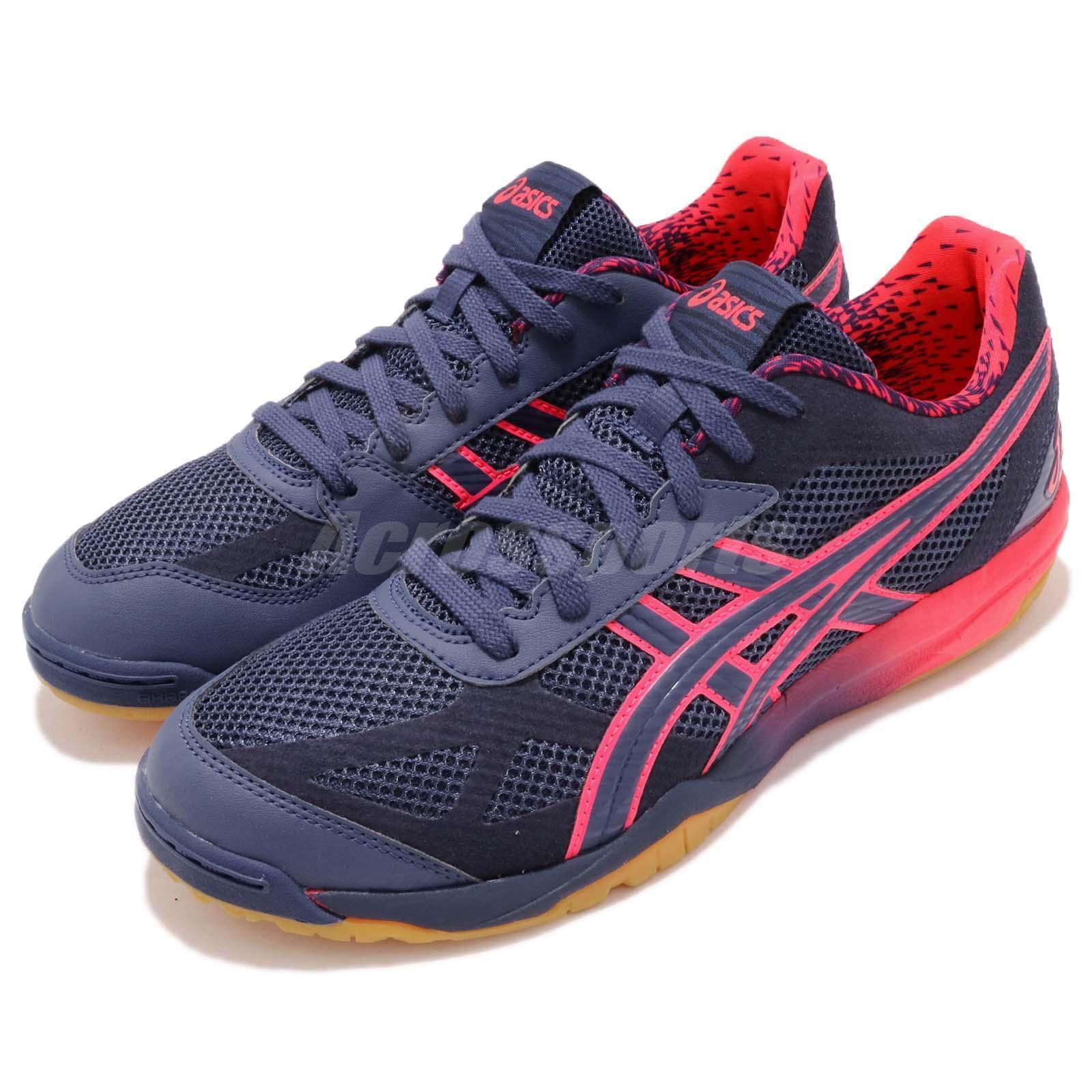 Asics rougee Japon Lyte AWC bleu indigo rose chewing-Gum Volleyball Badminton 1053A00-1400