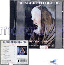 """GIUSEPPE CIONFOLI """"IL SEGRETO DEL RE"""" RARO CD SIGILLATO"""