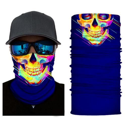 Balaclava Cycling Neck Tube Scarf Snood Biker Face Cover Skiing Bandanas HOT