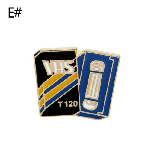 Enamel DIY Broach Pins Cartoon Funny Badge Shirt Collar Metal-G Brooch Pins G8W9