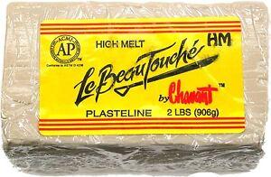 Chavant Le Beau Touche HM Clay - Cream - 2 pound block Sculpting Modeling