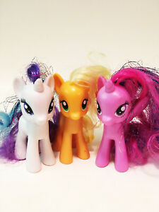 My Little Pony Lot Of 3 Ponies My Little Pony Toys 2 in