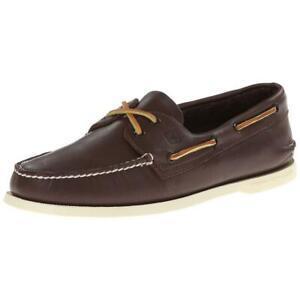 Sperry Top-Sider A/O 2-Eye Men's Brown Boat Shoe FLSAMP