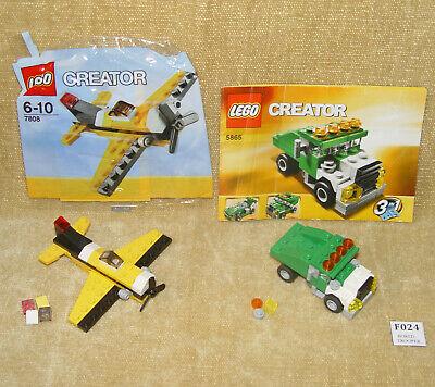 C302 Lego 4100 Creator Truck Maximum wheels complet à 100 /% de 2003