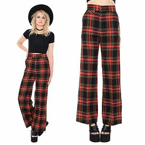 There's plaid bell bottoms opinion