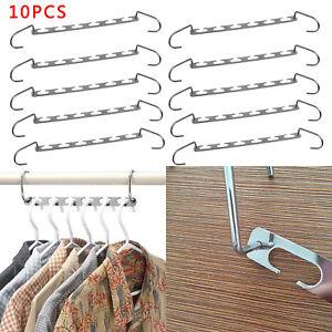 Set-of-10-Metal-Magic-Clothes-Closet-Hangers-Coat-Clothing-Organizer-Space-Saver