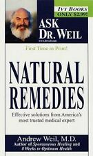 Natural Remedies (Ask Dr. Weil) Andrew Weil Mass Market Paperback