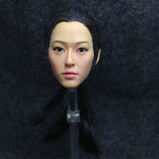 1/6 Head Sculpt KUMIK 15-24 Hot Sideshow Toys TTL Enterbay Custom female girl