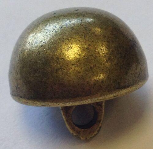 Véritable Métal antique//vintage style ternie en laiton//bronze BOUTONS 15 mm x 6