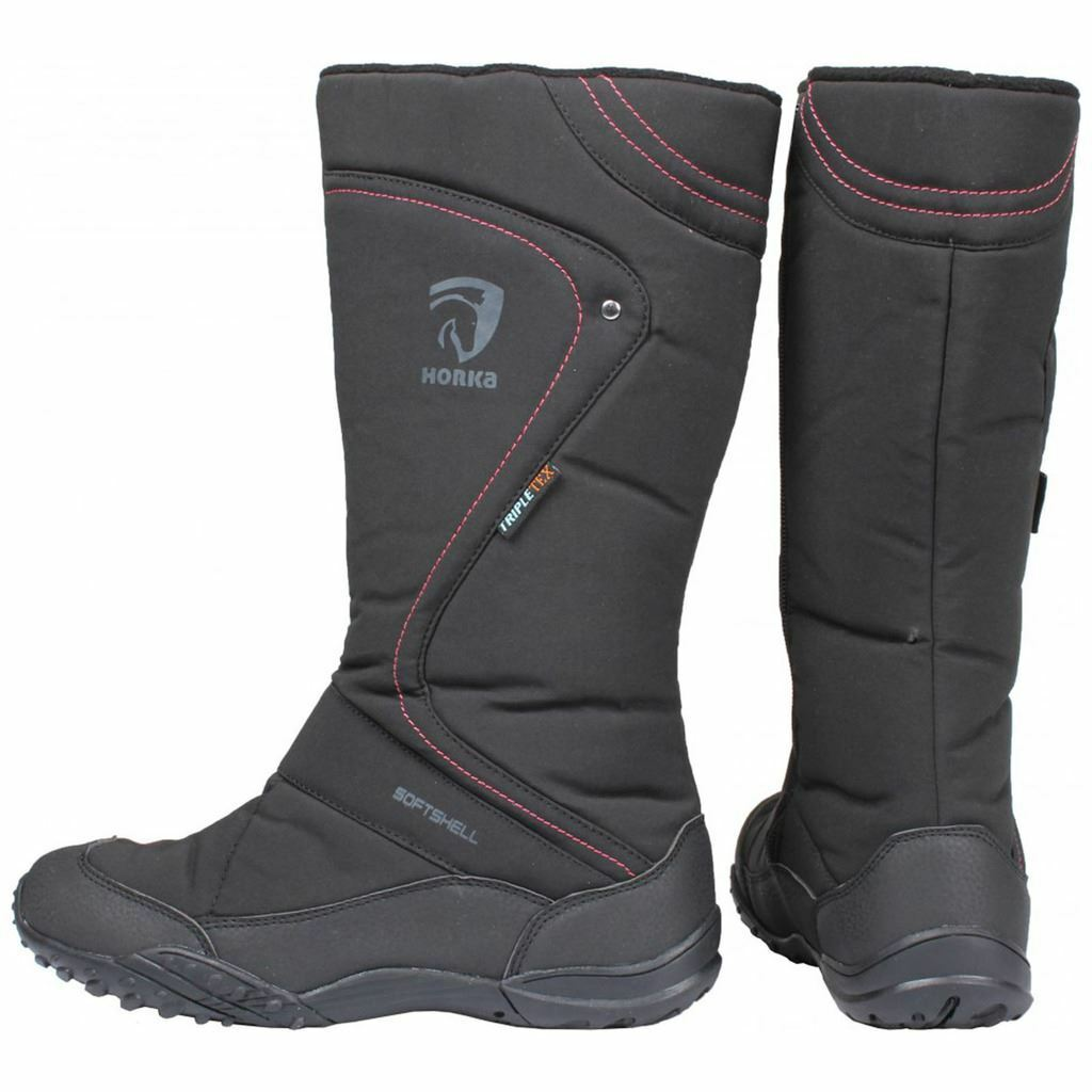 Horka Thermo Stiefel With Warm Fleece Lining And Rubber Sole Waterproof Outdoors