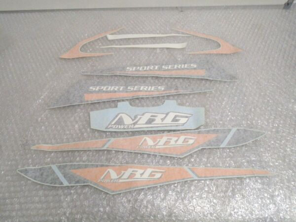 Piaggio Nrg 50cc 2005-2015 Genuine Decal Sticker Set New Rrp £61.52! 62429800a1
