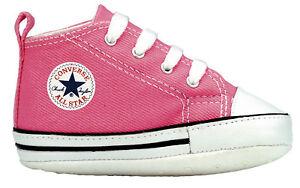 babyschuhe rosa converse