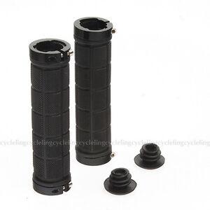ROCKBROS-Bike-Fixed-Gear-Fixie-Lock-on-Grips-MTB-Rubber-Handlebar-Grips-Black
