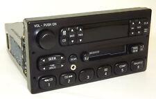 1999 Mercury Grand Marquis AM FM Cassette CD Control Car Radio w Aux iPod Input