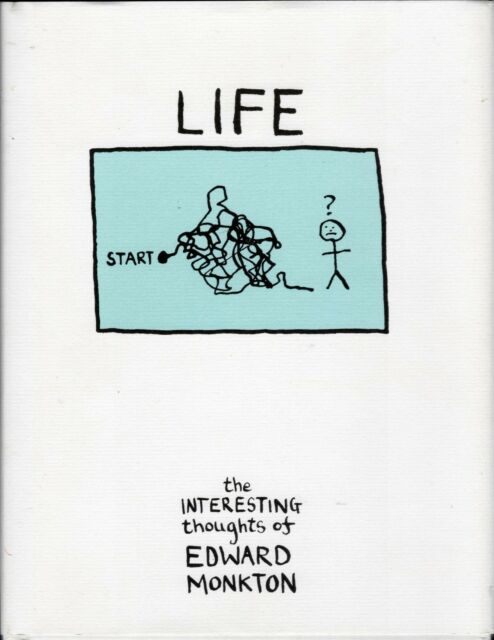 Life - The Interesting Thoughts of Edward Monkton - Hardback Book (RB)